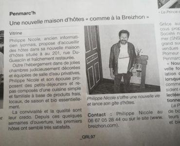 Ouest France du 19/06/2018